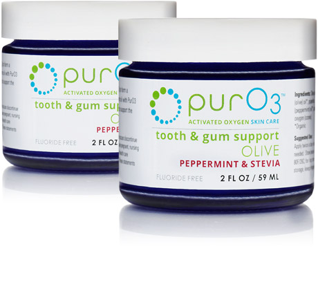 PurO3 Ozonated Olive Oil for Teeth and Gums