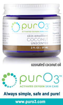 Ozonated Coconut Oil