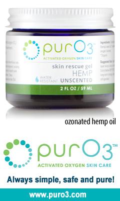 Ozonated Hemp Oil