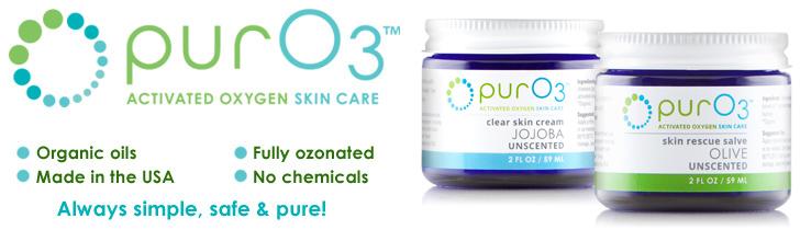 PurO3 Ozonated Oils